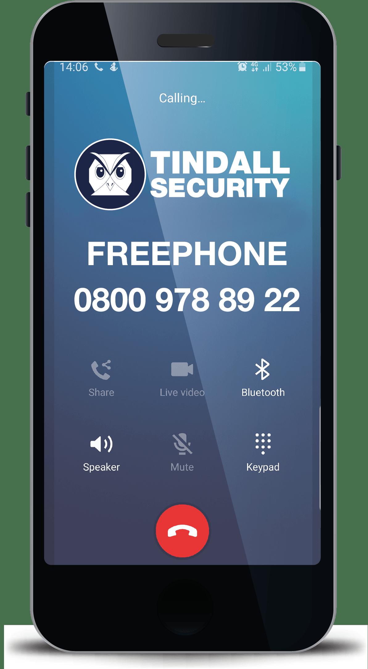 call tindall security