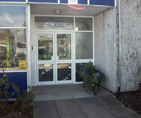 Andrews Lane Primary School entrance