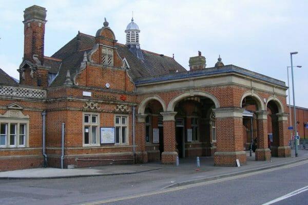 hertford east rail station